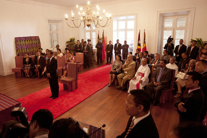 Swearing-in Ceremony of New President of Timor-Leste