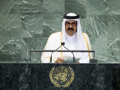H.H. Sheikh Hamad bin Khalifa Al-Thani
