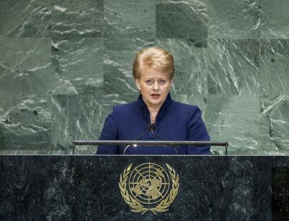S.E. MmeDalia Grybauskaitė