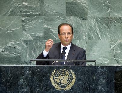 S.E. M.François Hollande