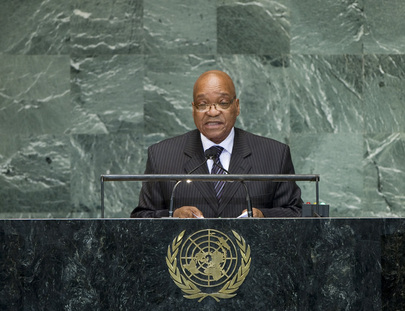 H.E. Mr. Jacob Zuma