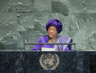 H.E. Mrs.Ellen Johnson-Sirleaf