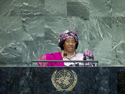 S.E. MmeJoyce Hilda Mtila Banda