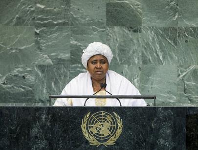 H.E. Mrs.Isatou Njie-Saidy