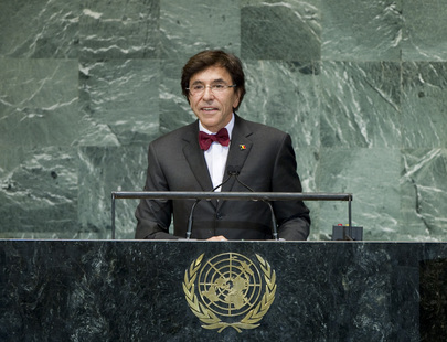 H.E. Mr.Elio Di Rupo
