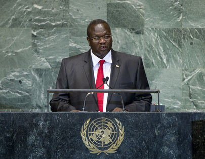 S.E. M.Riek Machar Teny-Dhurgon