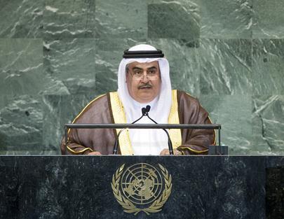 H.E. Mr.Sheikh Khalid Bin Ahmed Bin Mohammed Al Khalifa