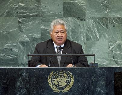 H.E. Mr.Tuilaepa Sailele Malielegaoi
