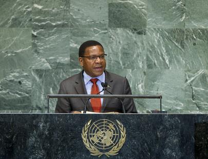 H.E. Mr.Bernard Kamillius Membe