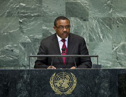 H.E. Mr.Hailemariam Desalegn