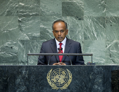 H.E. Mr.K. Shanmugam