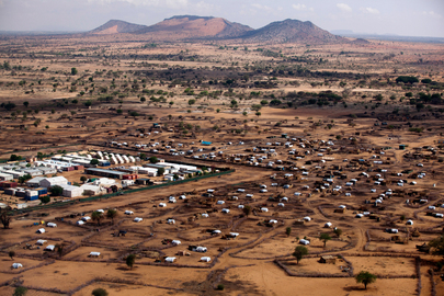 Thousands Take Refuge at UNAMID's Khor Abeche IDP Camp
