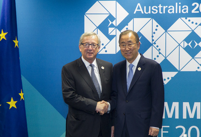 Secretary-General Meets with President of European Commission
