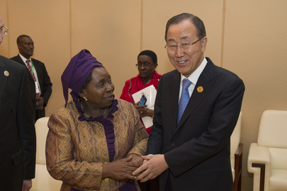 Secretary-General Meets Head of African Union Commission in Addis Ababa
