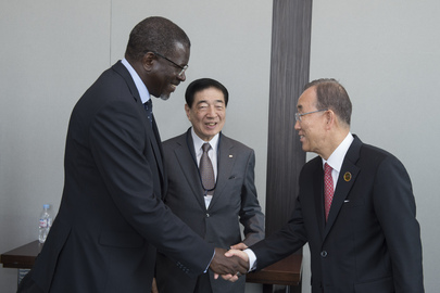 Secretary-General Meets Head of Federation of Red Cross and Red Crescent Societies