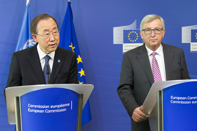 Press Conference by Secretary-General, President of European Commission