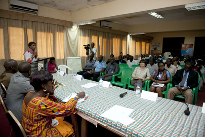 Intercommunity Dialogue of Sensitization Campaign for Peaceful Election Environment