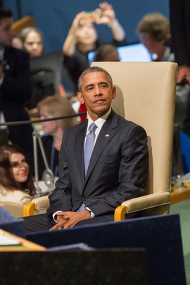 United States President at General Assembly