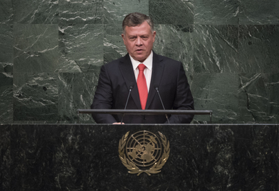 King of Jordan Addresses General Assembly