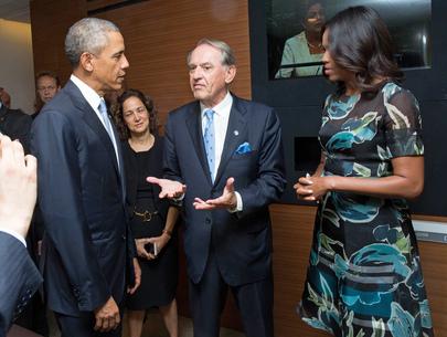 Deputy Secretary-General Meets United States President