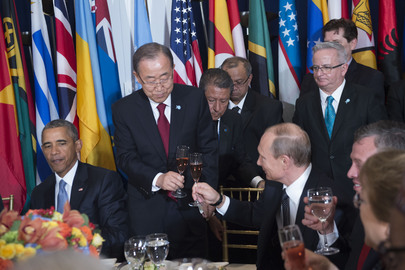 Secretary-General Hosts Luncheon for World Leaders