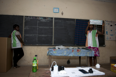 Côte d'Ivoire Holds Presidential Elections