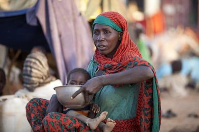 New IDP Arrivals at Um Baru, North Darfur