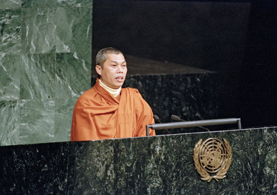 Representatives of the World's Indigenous Peoples Participate in the Launching of International Year, 1993