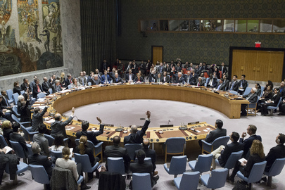 Security Council Adopts Resolution on Israeli Settlements