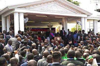 Inauguration of New President of Haiti