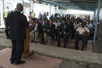 Closing Ceremony of MINISTAH Base in Cap-Haïtien