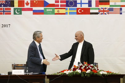 Meeting of Joint Coordination and Monitoring Board, Kabul