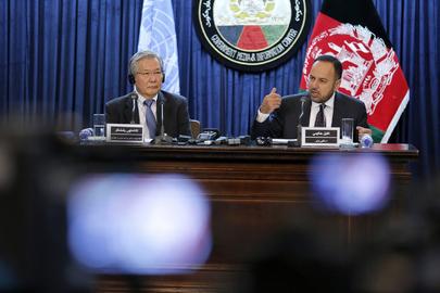 Press Conference on JCMB Meeting, Kabul