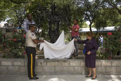 Peace Statue Unveiled in Haiti