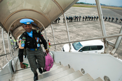 Last UNMIL Peacekeepers Withdraw from Liberia