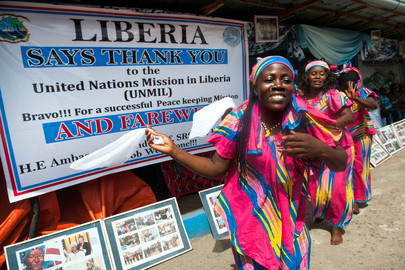 NGOs and Cultural Organizations Bid Farewell to UNMIL