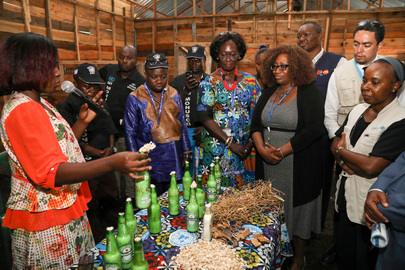 MONUSCO Conduct and Discipline Section Inaugurates Projects in DRC