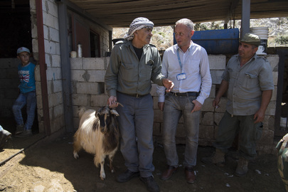 Goat Vaccination Drive Conducted by UNIFIL Peacekeepers
