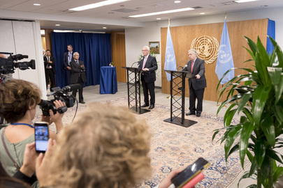 Joint Press Encounter by Secretary-General and President of European Commission