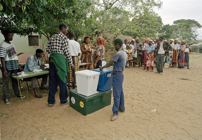 Elections in Mozambique
