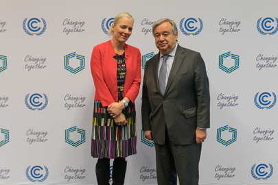 Secretary-General Meets Minister for Environment and Climate Change of Canada at COP24
