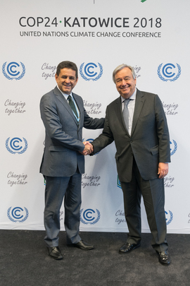Secretary-General Meets Minister of Environment of Brazil at COP24