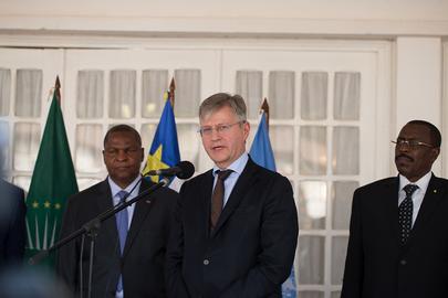 Joint UN/AU Delegation Visit Central African Republic