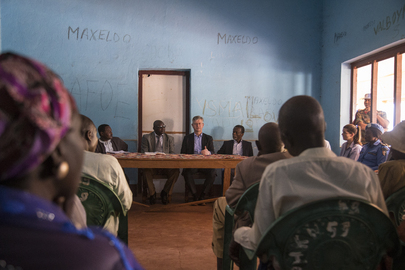 Chief of UN Peace Operations Visits Central African Republic