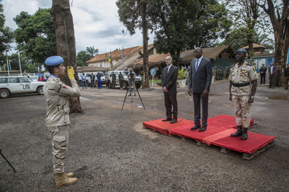 MINUSCA Welcomes new Head of Mission