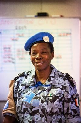 UNPOL Officer in Fort-Liberté, Haiti
