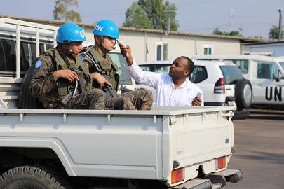 MONUSCO Takes Precaution Efforts to Prevent Spread of Ebola