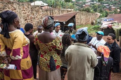 MONUSCO Informs Prisoners in Butembo about Ebola