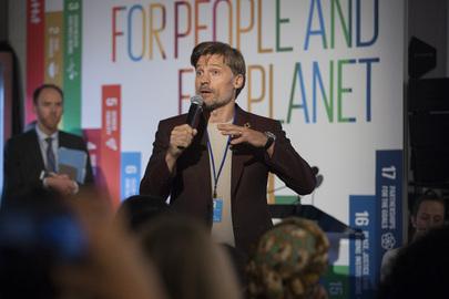 UNDP Goodwill Ambassador Addresses SDGs Event