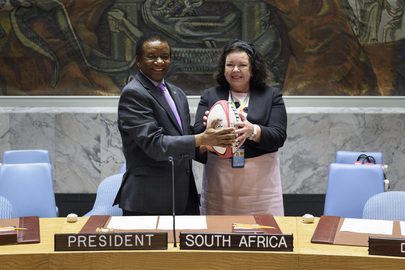 Handover of Presidency in Security Council